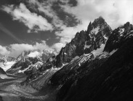 Aiguille des Grds Charmoz, French Alps