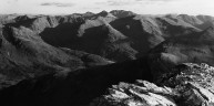Stob Coire nan Lochan from the Mamores