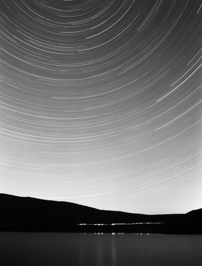 Polaris & Star Trails Loch Broom